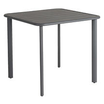 Fresco Square Dining Tables with Aluminium Top