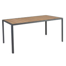 Fresco Rectangular Dining Tables with Roble Top