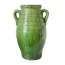 Provencal Olive Jar - Green Glaze