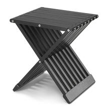 Fionia Folding Stool/Table-Black