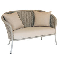 Cordial Curved Top Lounge Sofa - Beige