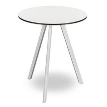 Overlap 62cm Round Table - White