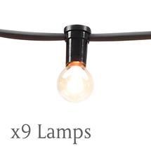 Spare Set of 9 Lamps