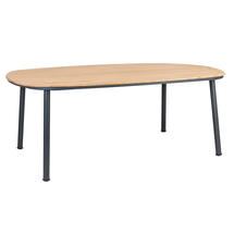Cordial 200cm Dining Table with Roble Top