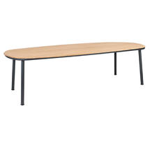 Cordial 270cm Dining Table with Roble Top