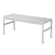 Reform Bench - Silver White