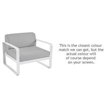 Bellevie Outdoor Armchair - Cotton White