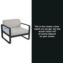 Bellevie Outdoor Armchair - Liquorice