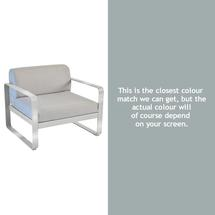Bellevie Outdoor Armchair - Steel Grey