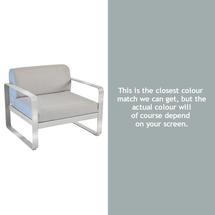 Bellevie Armchair - Steel Grey