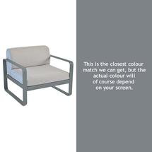 Bellevie Outdoor Armchair - Storm Grey