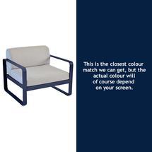 Bellevie Armchair - Deep Blue