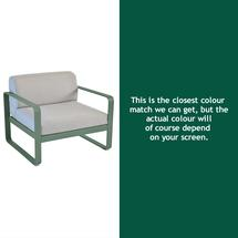 Bellevie Outdoor Armchair - Cedar Green
