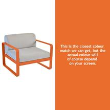 Bellevie Outdoor Armchair - Carrot