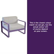 Bellevie Outdoor Armchair - Aubergine