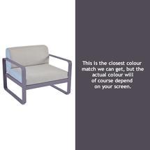 Bellevie Outdoor Armchair - Plum