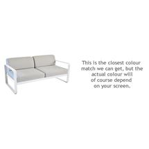 Bellevie Outdoor 2 Seater Sofa - Cotton White