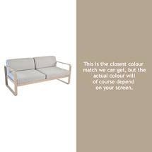 Bellevie Outdoor 2 Seater Sofa - Nutmeg