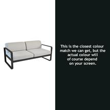Bellevie Outdoor 2 Seater Sofa - Liquorice