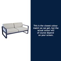 Bellevie Outdoor 2 Seater Sofa - Deep Blue