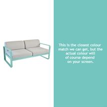 Bellevie Outdoor 2 Seater Sofa - Lagoon Blue
