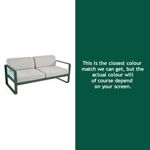 Bellevie Outdoor 2 Seater Sofa - Cedar Green