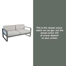 Bellevie Outdoor 2 Seater Sofa - Rosemary