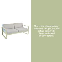 Bellevie Outdoor 2 Seater Sofa - Willow Green