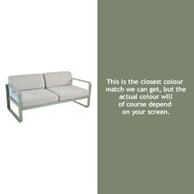 Bellevie Outdoor 2 Seater Sofa - Cactus