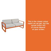 Bellevie Outdoor 2 Seater Sofa - Carrot