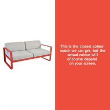 Bellevie Outdoor 2 Seater Sofa - Capucine