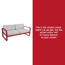Bellevie Outdoor 2 Seater Sofa - Poppy
