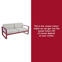 Bellevie Outdoor 2 Seater Sofa - Chilli