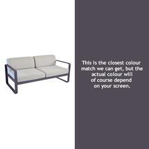 Bellevie Outdoor 2 Seater Sofa - Plum