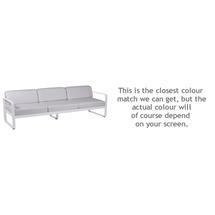 Bellevie Outdoor 3 Seater Sofa - Cotton White