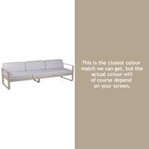 Bellevie Outdoor 3 Seater Sofa - Nutmeg