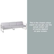 Bellevie Outdoor 3 Seater Sofa - Steel Grey