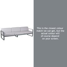 Bellevie Outdoor 3 Seater Sofa - Storm Grey