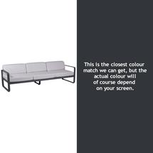 Bellevie Outdoor 3 Seater Sofa - Anthracite