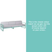 Bellevie Outdoor 3 Seater Sofa - Lagoon Blue