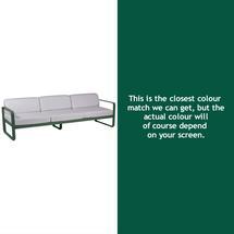 Bellevie Outdoor 3 Seater Sofa - Cedar Green