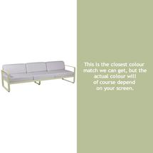 Bellevie Outdoor 3 Seater Sofa - Willow Green