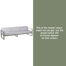 Bellevie Outdoor 3 Seater Sofa - Cactus