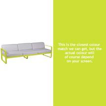 Bellevie Outdoor 3 Seater Sofa - Verbena Green