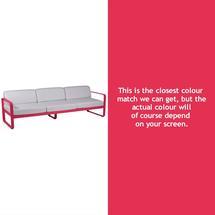 Bellevie Outdoor 3 Seater Sofa - Pink Praline