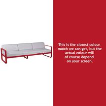 Bellevie 3 Seat Sofa - Poppy
