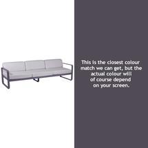 Bellevie Outdoor 3 Seater Sofa - Plum