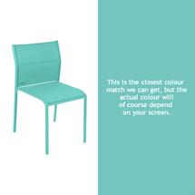 Cadiz Dining Chair - Lagoon Blue