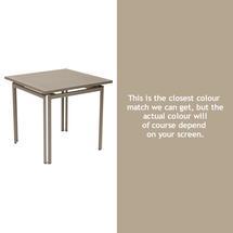 Costa Square Table - Nutmeg