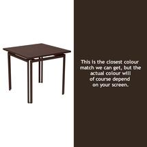 Costa Square Table - Russet